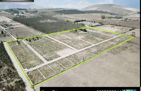 Terreno de venta 665m2 Malchingui. Urbanización Privada