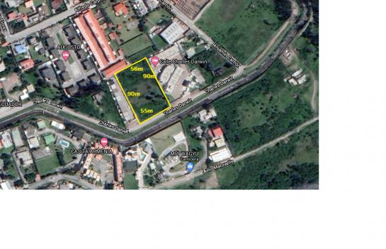 Terreno de venta en Conocoto 4.950 m2, La Armenia, Valle de los Chillos