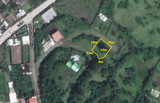 Terreno de venta en Alangasi 470 m2, Valle de Los Chillos
