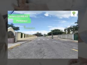 Terreno de venta en Pomasqui 10.000 m2, ingreso a 100 metros de la Simón Bolívar
