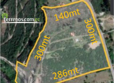 Terreno en Venta en Tumbaco Sector Churoloma 70000m2