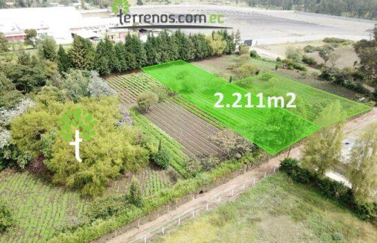 Terreno en Venta 2.211 m2, Puembo Sector Colegio Highlands l