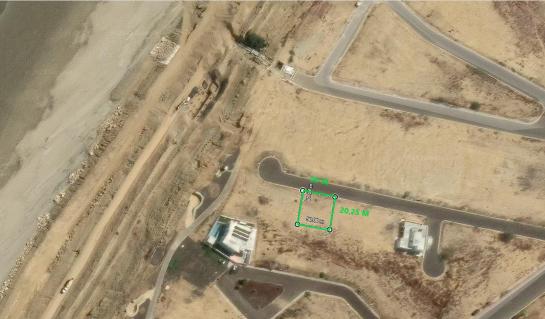 Terreno de venta en urbanización Playa Alta 500 M2, playa de Santa Marianita, Manta