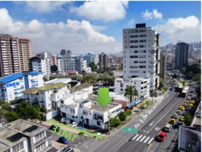 Terreno de venta en La Mariscal 600 m2 6 de diciembre y baquerizo