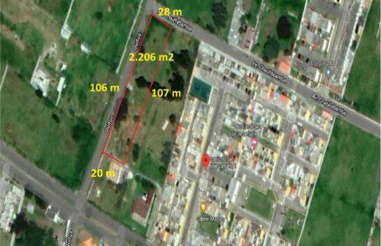 Terreno en Venta Los Chillos 2.206 m2, Amaguaña, La Salle 2, Vivienda Vip y Vis  Copia
