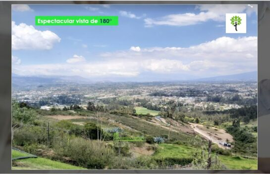Terreno de Venta en  Tumbaco 2.500 m2 Urbanización Terraviva
