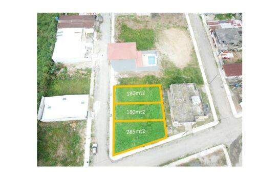 Terreno de venta en Santo domingo 180 m2 Lotización Los Girasoles