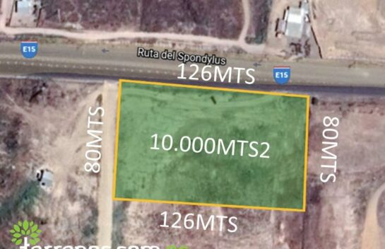 Terreno de venta en Manta-Jaramijó 10.000m2 para gasolinera