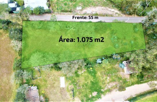 Terreno de venta, Nayón 1.075 m2