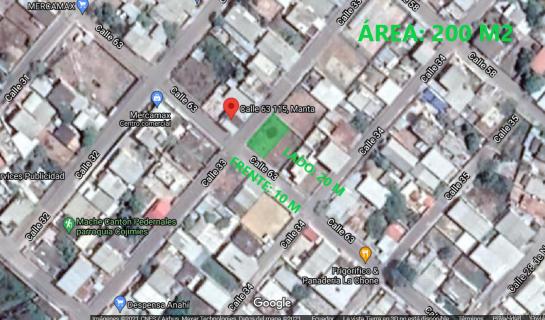 Terreno de venta en Manta 200 M2 en ciudadela Marbella