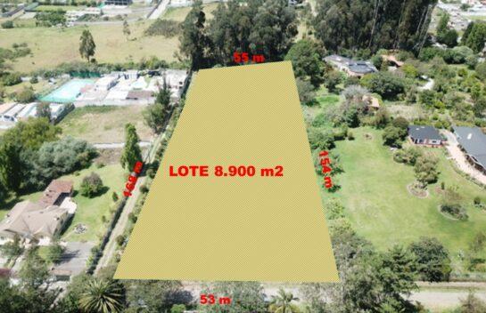 Terreno en venta en Valle de los Chillos, Sector La Salle 8.900 m2,  Amaguaña