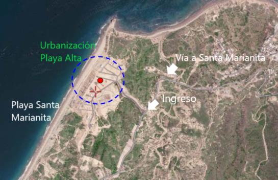Terreno de venta en Santa Marianita 375 M2 urbanización Playa Alta