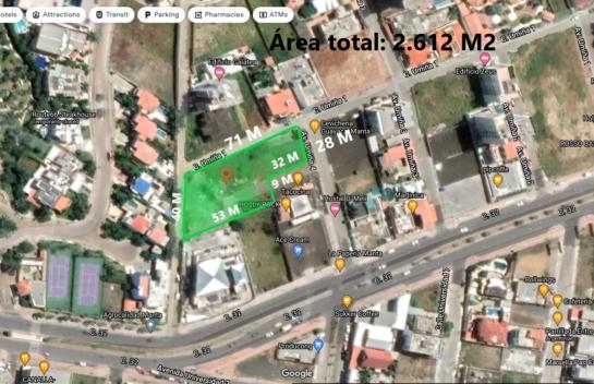 Terreno de 2.612 m² en Barbasquillo, La Mejor Zona de Manta