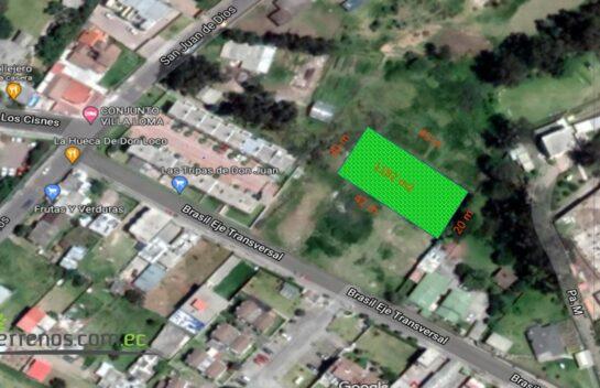 Terreno en Venta, Los Chillos 1.182 m2, Alangasi, San Carlos, Illalo, Mirasierra Alto