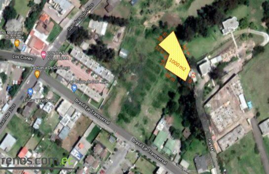Terreno en Venta, Los Chillos 1.000 m2, Alangasi, San Carlos, Illalo, Mirasierra Alto