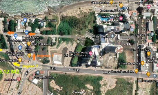 Terreno de venta en Barbasquillo 1.169,12 M2, zona más exclusiva de Manta
