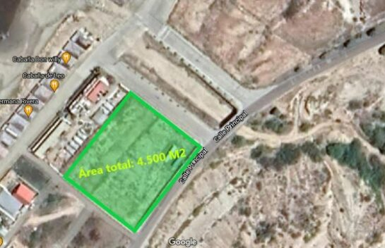 Terreno de venta en Santa Marianita 4.500 M2, segunda línea de mar