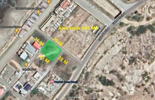 Terreno de venta en Santa Marianita 625 M2, segunda línea de mar