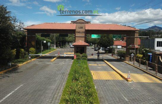 Terreno de Venta, dentro del Club Los Chillos 199m2
