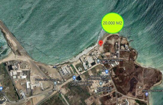 Terreno de venta 20.000 M2 en la zona industrial de Jaramijó