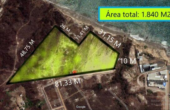 Terreno de venta en Jaramijó 1.840,00 M2, zona urbana