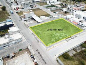 Venta de terreno 2.093m² sector Llano Grande para proyecto Inmobiliario