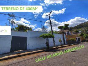 Terreno en venta en la Magdalena 400m2, Calle Ricardo Jaramillo